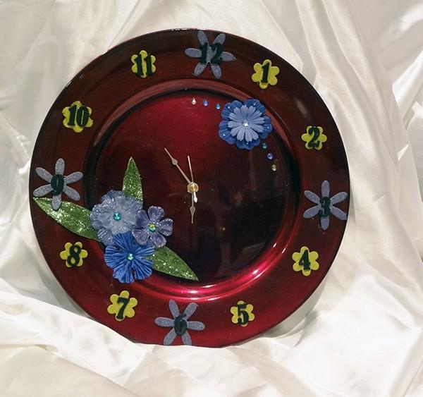 Custom-Floral-Clock