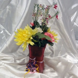 Pink-and-Yellow-Floral-Vase-Gift