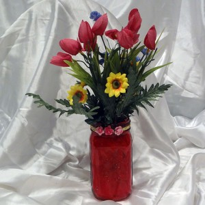 Red-Tulip-Floral-Arrangment