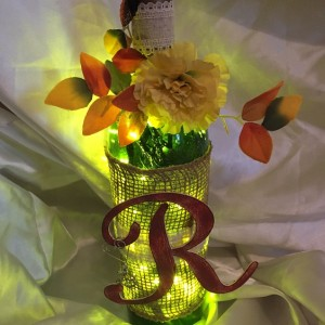 rustic wine bottle